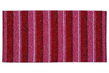 Matta Mix Liv 150x180 PVC/Bomull/Polyester Röd