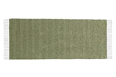 Matta Mix Maja 150x150 PVC/Bomull/Polyester Oliv