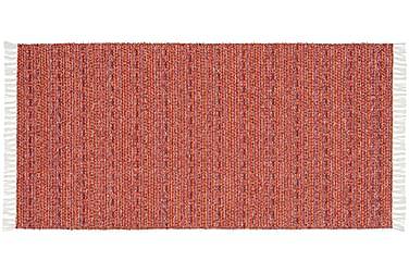 Matta Mix Svea 70x300 PVC/Bomull/Polyester Röd