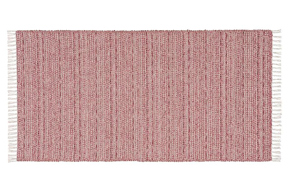 Matta Mix Svea 70x300 PVC/Bomull/Polyester Rosa