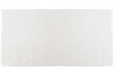 Matta Mix Uni 150x180 PVC/Bomull/Polyester Vit