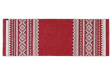 Plastmatta Björn 150x200 Vändbar PVC Röd