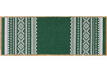 Plastmatta Björn 150x250 Vändbar PVC Grön