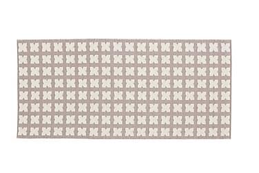 Plastmatta Cross 70x150 Vändbar PVC Rosa