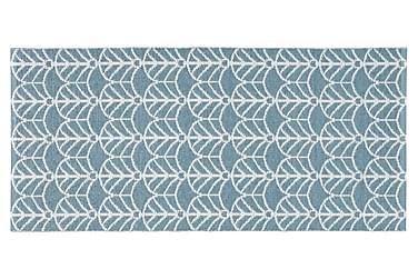 Plastmatta Deco 70x50 Vändbar PVC Blå