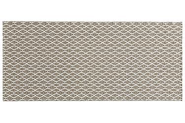 Plastmatta Eye 150x150 Vändbar PVC Beige