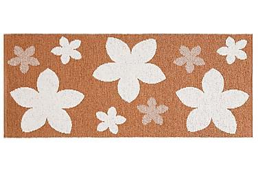 Plastmatta Flower 70x350 Vändbar PVC Rost