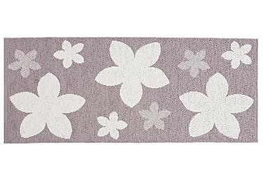 Plastmatta Flower 70x50 Vändbar PVC Ljung