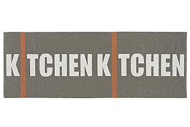 Plastmatta Kitchen 70x150 Vändbar PVC Grå