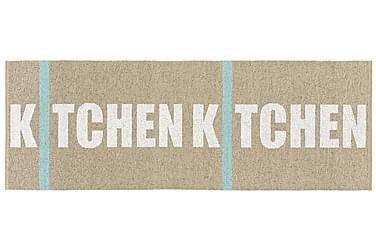 Plastmatta Kitchen 70x200 Vändbar PVC Beige