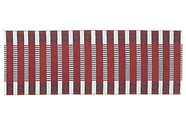 Plastmatta Märta 150x250 Vändbar PVC Röd