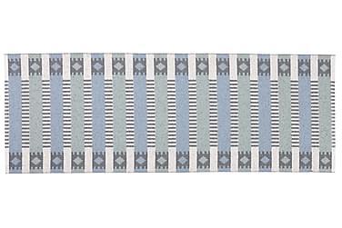 Plastmatta Märta 70x150 Vändbar PVC Blå/Grön