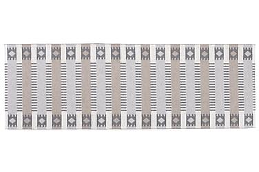 Plastmatta Märta 70x150 Vändbar PVC Grå/Beige