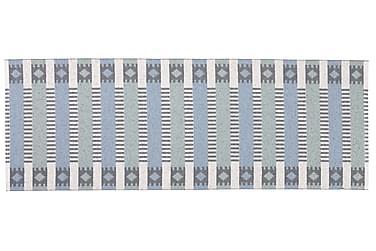 Plastmatta Märta 70x250 Vändbar PVC Blå/Grön