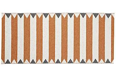 Plastmatta Peak 70x100 Vändbar PVC Orange