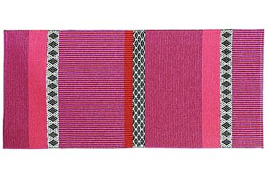 Plastmatta Savanne 70x350 Vändbar PVC Rosa