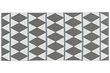 Plastmatta Zigge 70x300 Vändbar PVC Grå