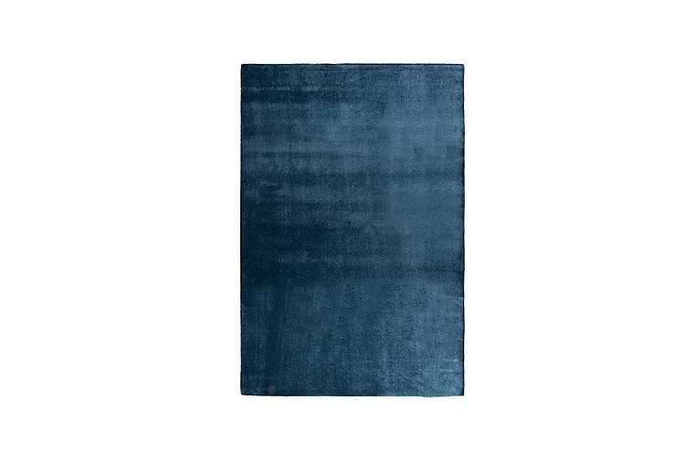 Matta Satine Rund 160 cm Blå - VM Carpets - Inredning - Mattor - Runda mattor