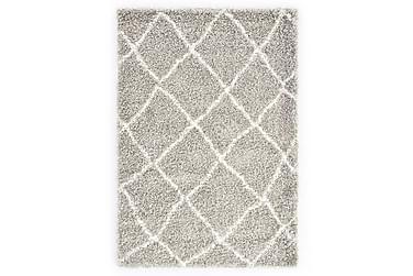 Berbermatta långhårig PP sand och beige 120x170 cm