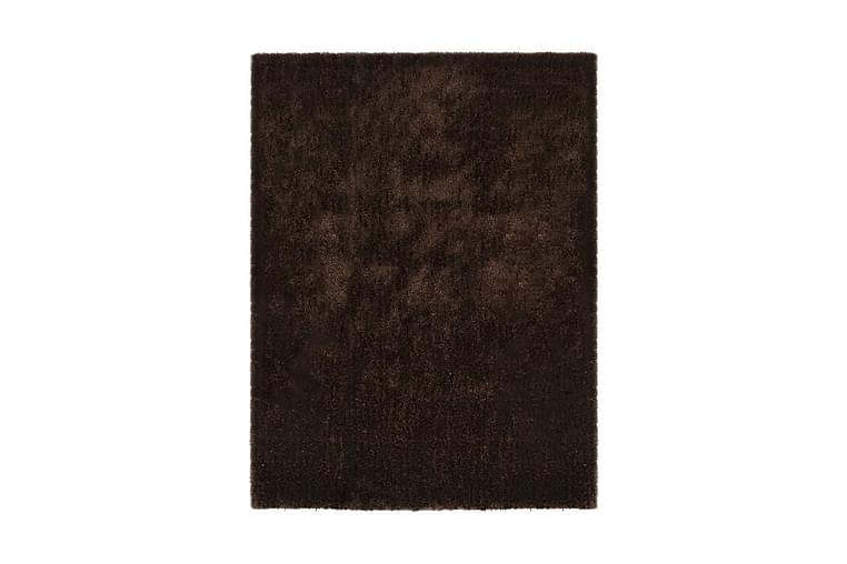 Shaggy matta 120x160 cm brun - Brun - Inredning - Mattor - Ryamatta