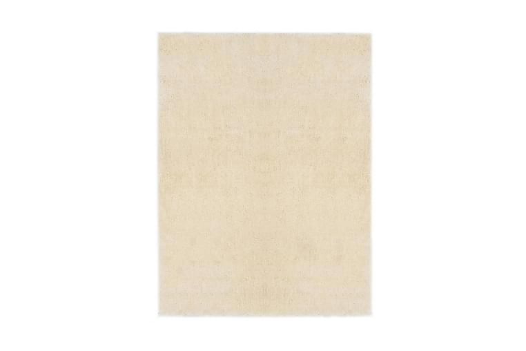 Shaggy matta 120x160 cm gräddvit - Kräm - Inredning - Mattor - Ryamatta