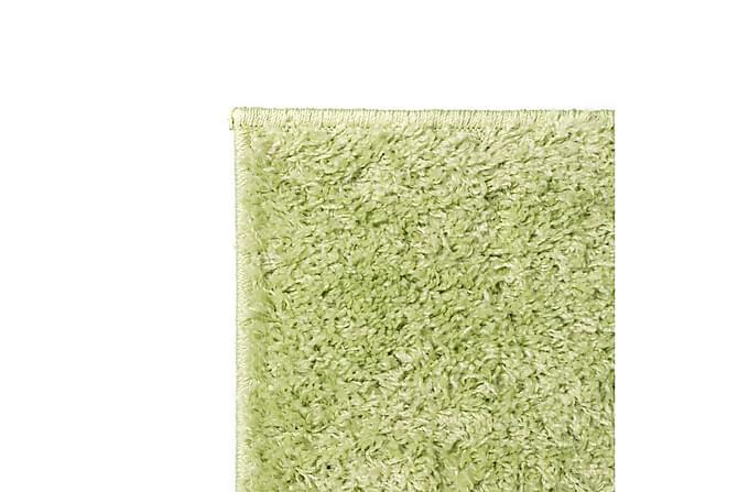 Shaggy-matta 160x230 cm grön - Grön - Inredning - Mattor