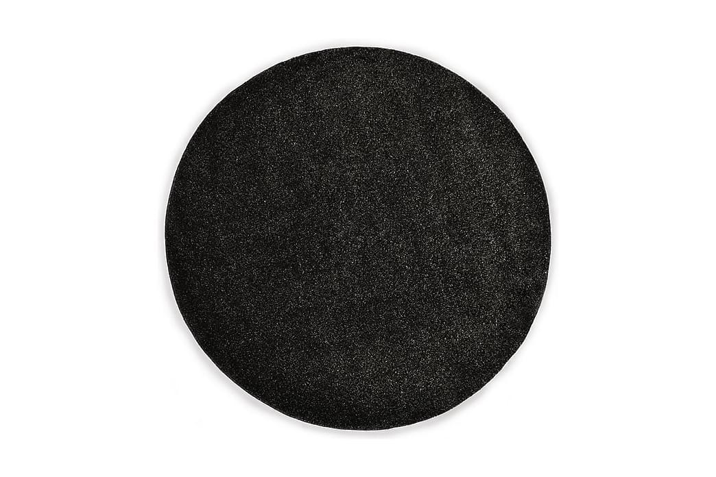 Shaggy-matta 67 cm antracit - Grå - Inredning - Mattor - Runda mattor