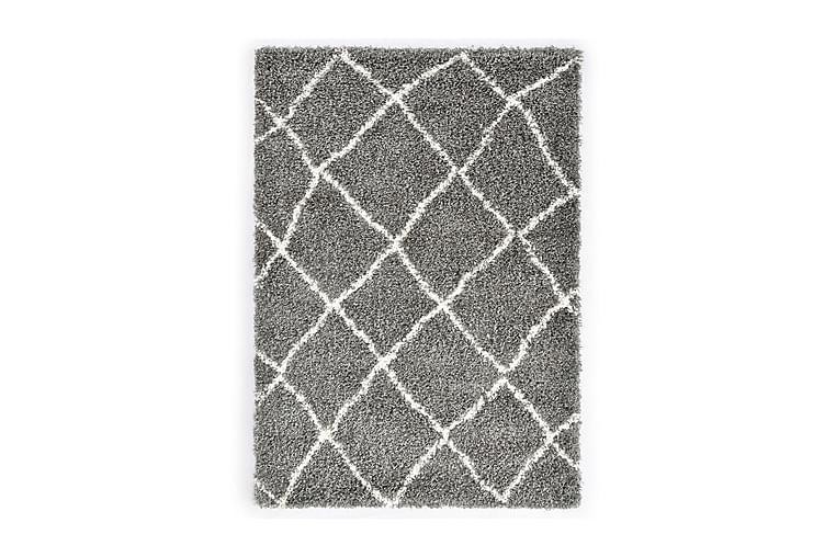 Berbermatta långhårig PP grå och beige 80x150 cm - Grå - Inredning - Mattor - Små mattor