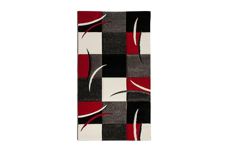 Friezematta London Patch 80x150 - Röd - Inredning - Mattor - Små mattor
