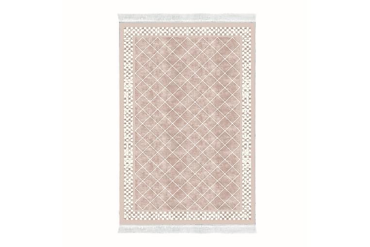 Matta Alanur Home 80x120 cm - Blekrosa/Cremevit - Inredning - Mattor - Små mattor
