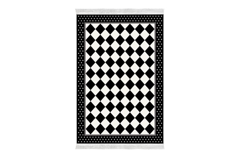 Matta Alanur Home 80x120 cm - Svart/Vit - Inredning - Mattor - Små mattor