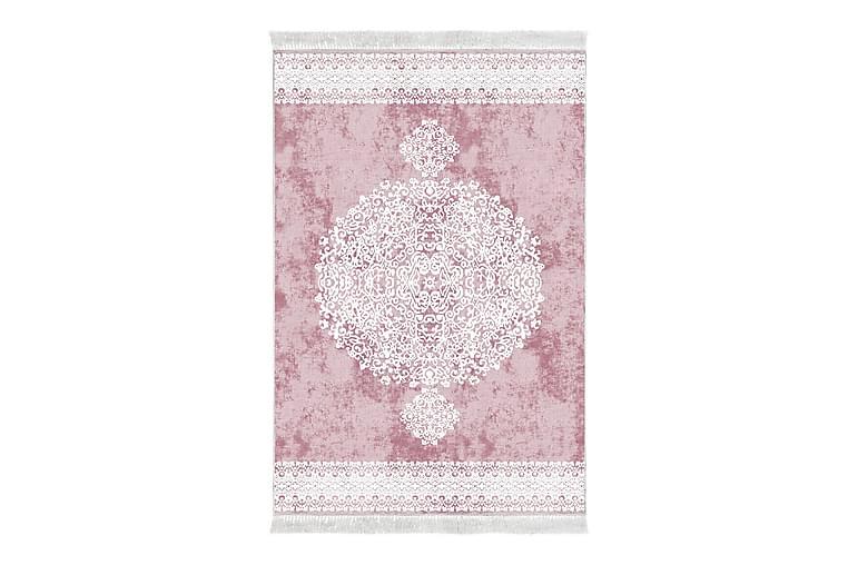 Matta Alanur Home 80x300 cm - Blekrosa/Vit - Inredning - Mattor - Små mattor