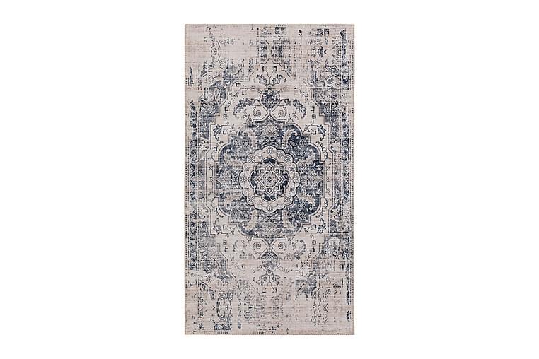 Matta Cleo Medaljong 80x150 cm - Cremevit/Grå - Inredning - Mattor - Små mattor