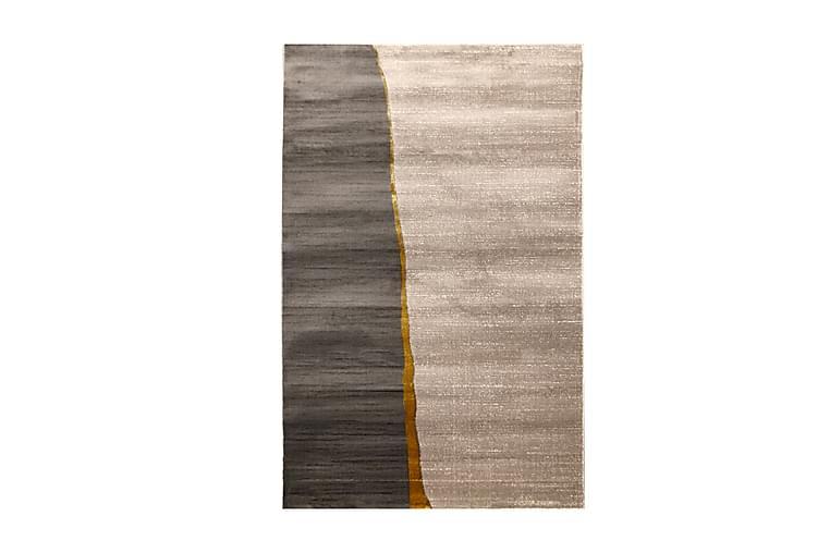 Matta Tacettin 80x150 cm - Guld/Grå - Inredning - Mattor - Små mattor
