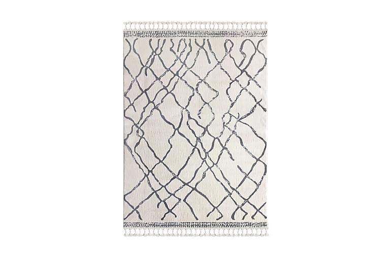 Matta Tacettin 80x150 cm - Vit/Grå - Inredning - Mattor - Små mattor