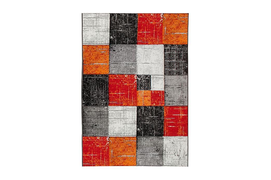 Friezematta London Square 200x290 - Röd Orange - Inredning - Mattor - Stora mattor