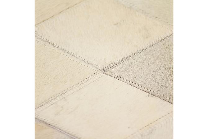 Matta äkta läder lappad diamant 160x230 cm grå - Inredning - Mattor - Stora  mattor 81b609c3e8d16