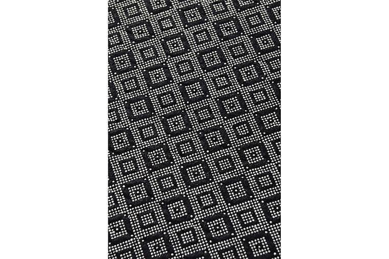 Matta Aitalas 160x230 cm - Rosa/Grå/Sammet - Inredning - Mattor - Stora mattor
