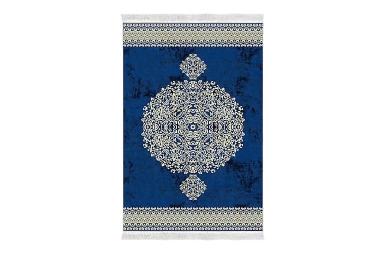 Matta Alanur Home 160x230 cm - Cremevit/Blå - Inredning - Mattor - Stora mattor