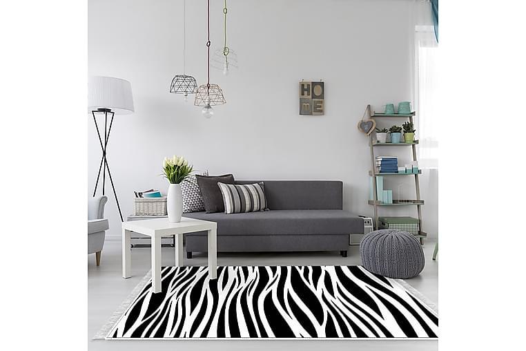Matta Alanur Home 180x280 cm - Svart/Vit - Inredning - Mattor - Stora mattor
