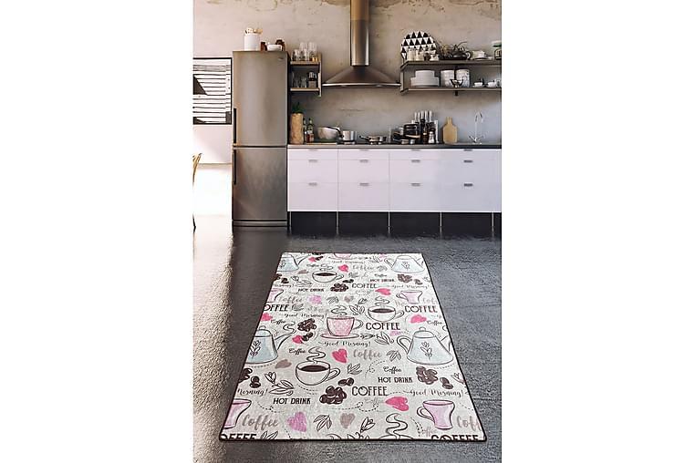 Matta Calenta 160x230 cm - Flerfärgad/Sammet - Inredning - Mattor - Stora mattor