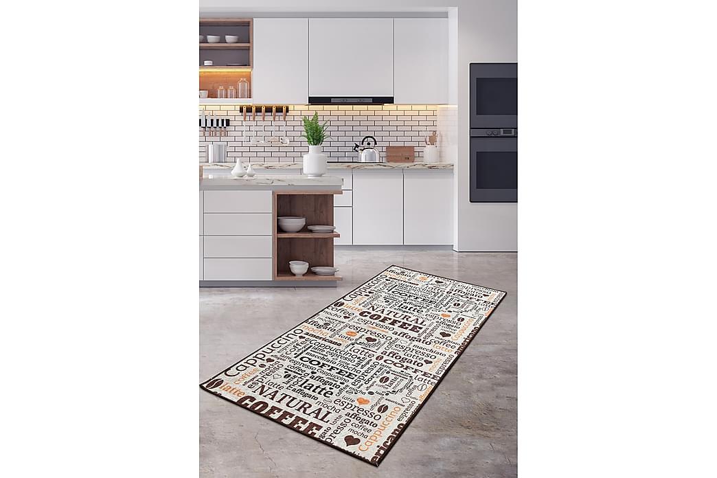 Matta Fincan 160x230 cm - Flerfärgad/Sammet - Inredning - Mattor - Stora mattor