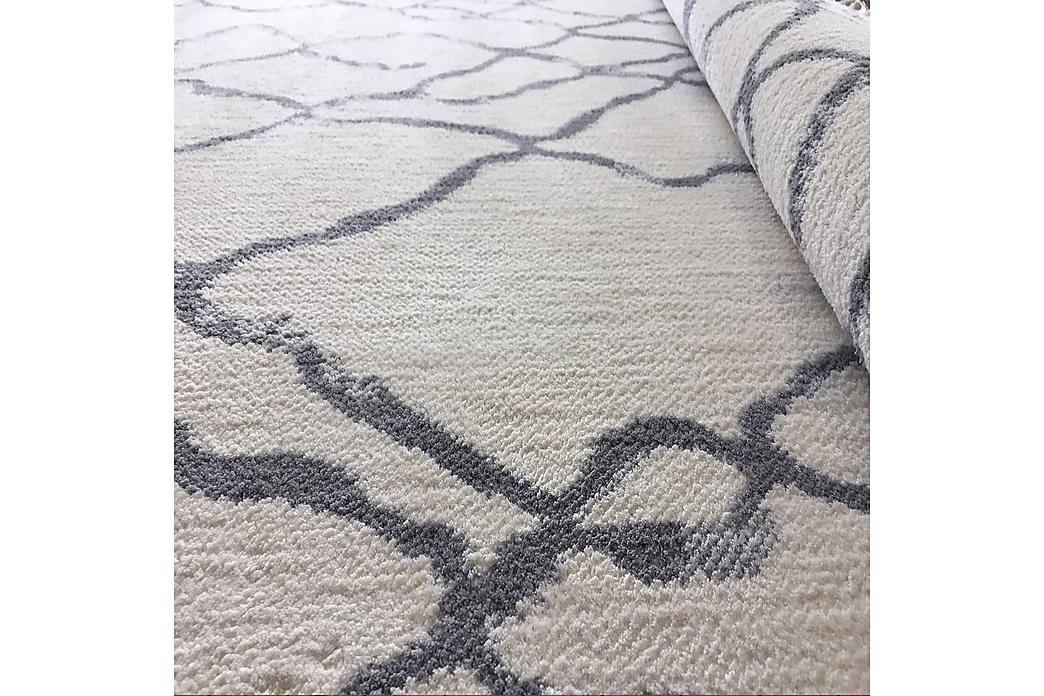 Matta Rubinas 160x700 cm - Vit/Grå - Inredning - Mattor - Stora mattor