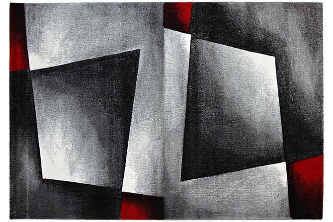 Matta Salada 133x190 - Svart Röd - Inredning - Mattor - Stora mattor
