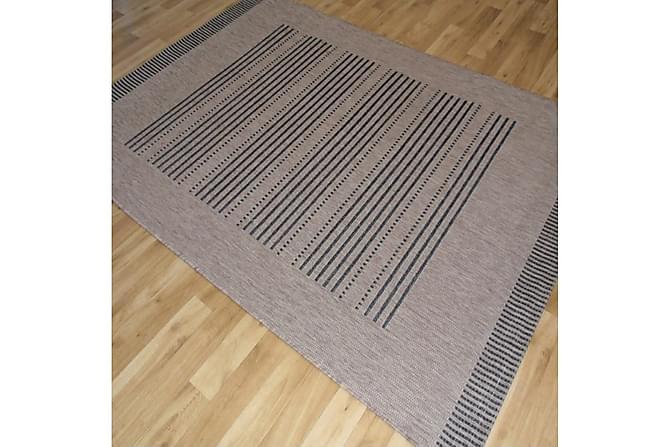 Matta Sisal 160x230 - Svart|Beige - Inredning - Mattor - Stora mattor