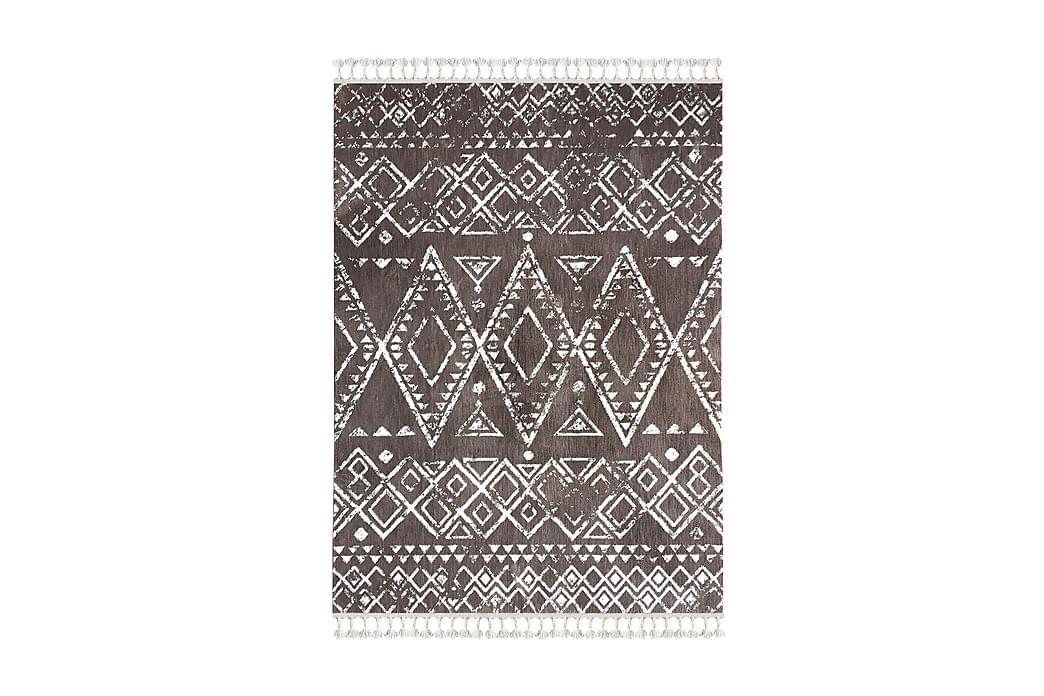 Matta Tacettin 160x230 cm - Brun/Vit - Inredning - Mattor - Stora mattor