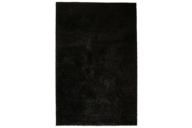 Shaggy-matta 160x230 cm svart - Svart - Inredning - Mattor - Stora mattor