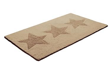 Bomullsmatta Star 70x120 Vändbar Beige