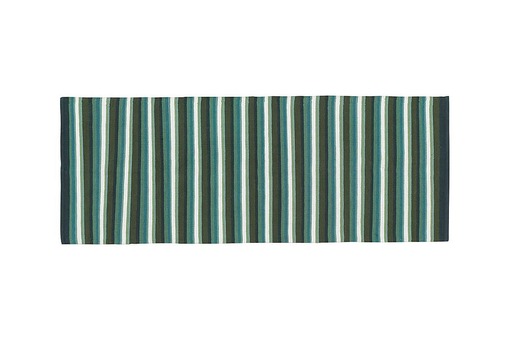 Bomullsmatta Strip 80x200 Salvia - Etol - Inredning - Mattor - Trasmattor