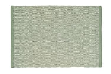 Matta Lindås 140x200 Grön